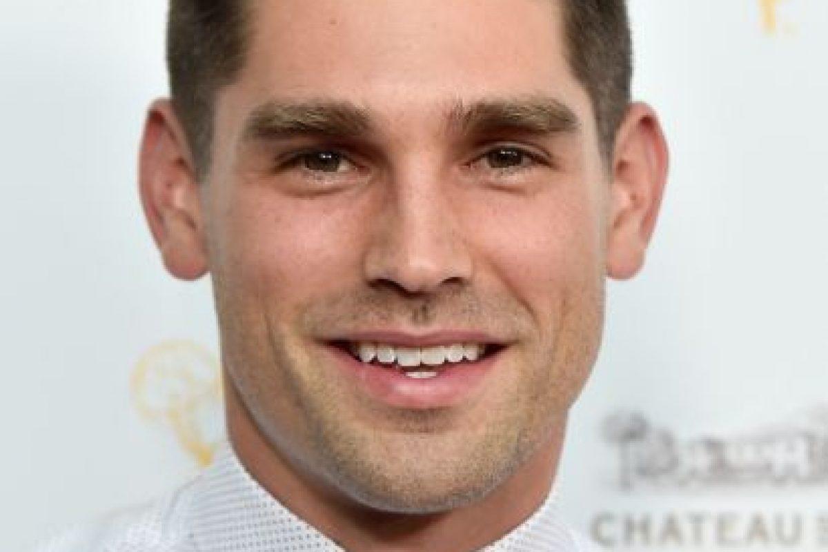 Y el actor Justin Gaston, con quien vivió un breve romance. Foto:Getty Images. Imagen Por: