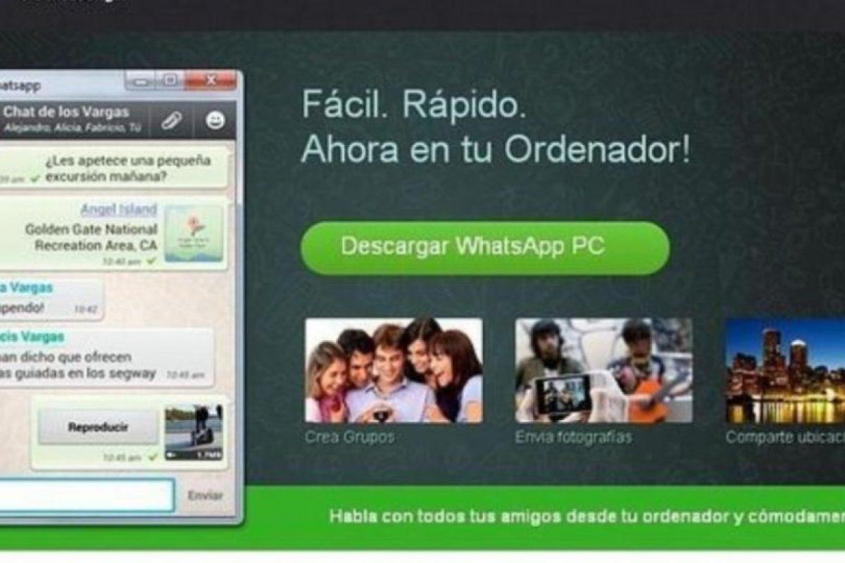 4- WhatsApp para PC. Foto:vía Tumblr.com. Imagen Por: