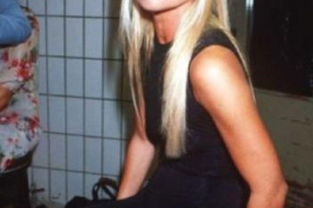 12. Así lucía Donatella Versace en los 90.. Imagen Por: