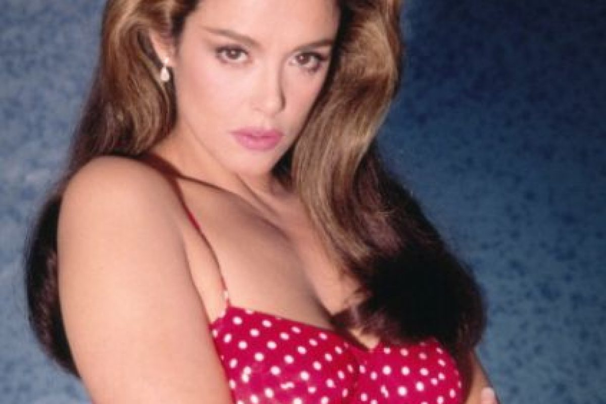 """Ahí grabó """"Marielena"""", pero por eso Televisa la vetó durante 15 años. Foto:vía Tumblr. Imagen Por:"""