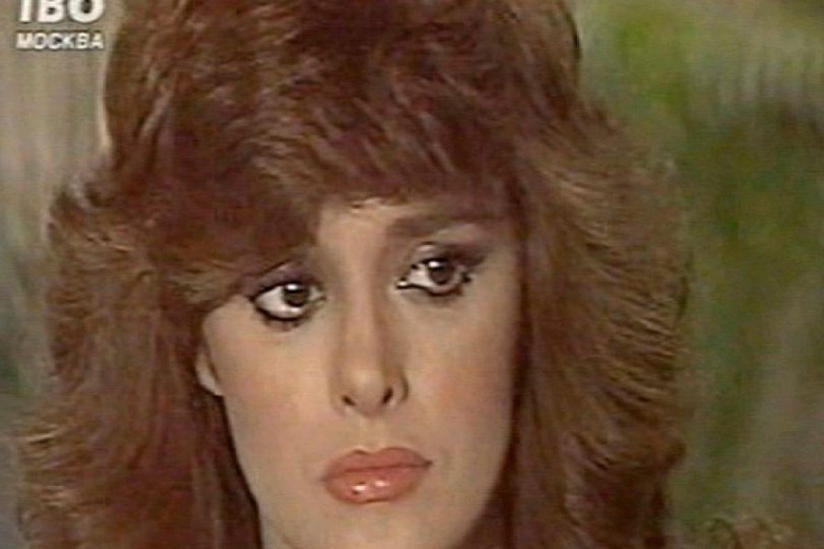 """Luego estuvo en """"Vanessa"""". En 1984, el Museo de Cera de Hollywood le da la oportunidad de tener su figura allí. Foto:vía Tumblr. Imagen Por:"""