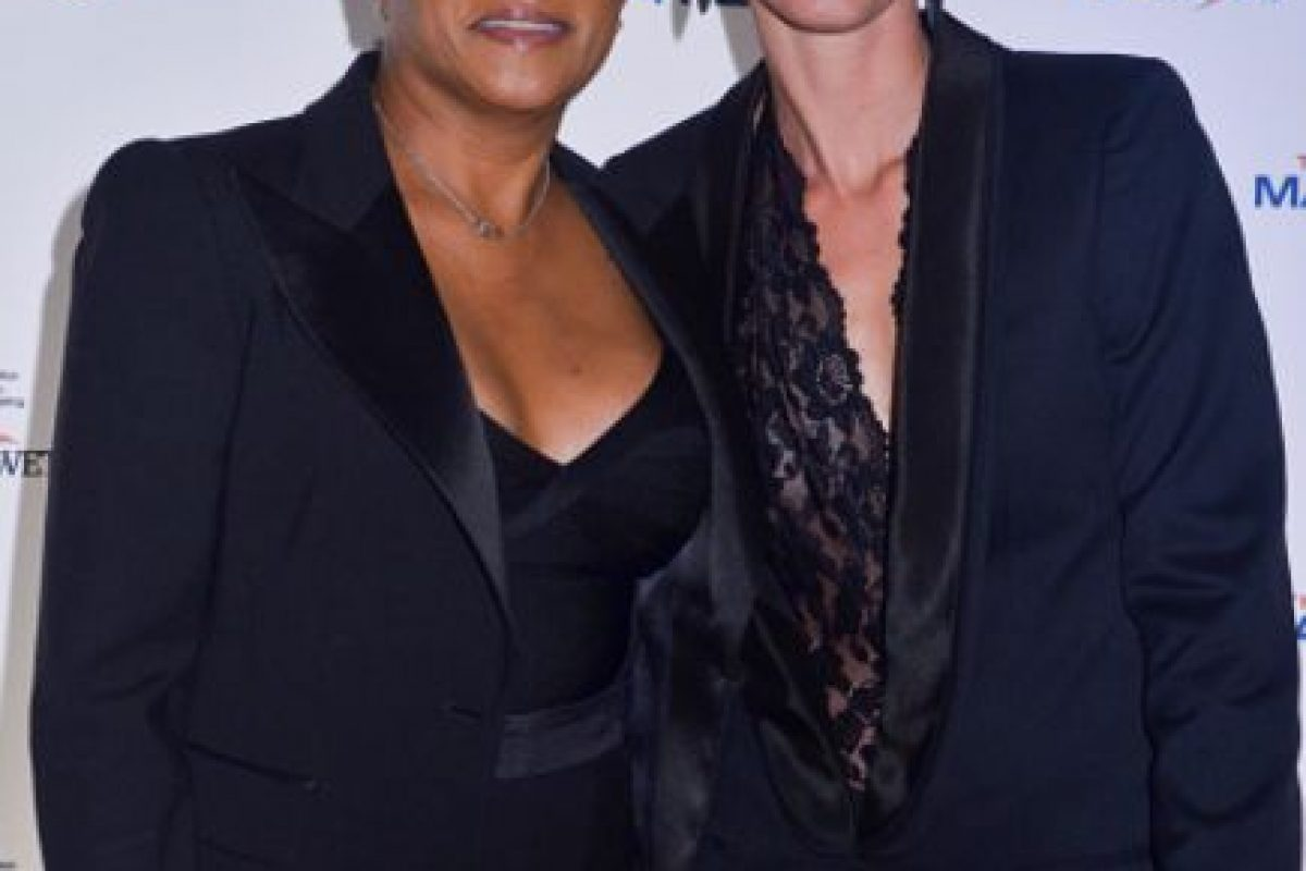 """La comediante Wanda Sykes (a quien pueden ver en """"Una suegra de cuidado""""), está casada con Alex Niedbalski. Foto:vía Getty Images. Imagen Por:"""