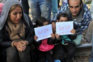 Protesta de iraníes a favor de los migrantes y refugiados. Foto:AFP. Imagen Por: