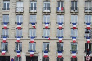 Homenaje a las 130 víctimas de los atentados terroristas en París. Foto:AFP. Imagen Por: