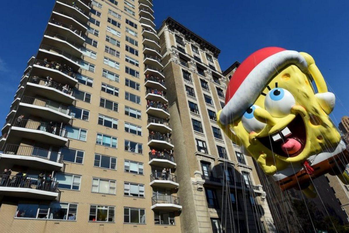 Así se vio el desfile de Macy´s en Nueva York el Día de Acción de Gracias. Foto:AFP. Imagen Por: