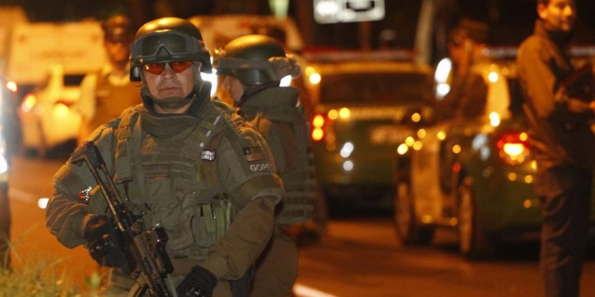 Procedimiento policial en San Bernardo termina con al menos dos lesionados