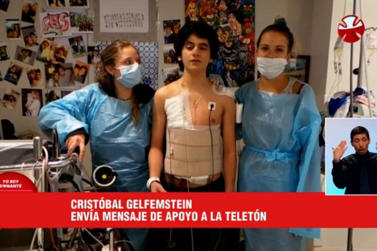 Foto:Captura Teletón. Imagen Por: