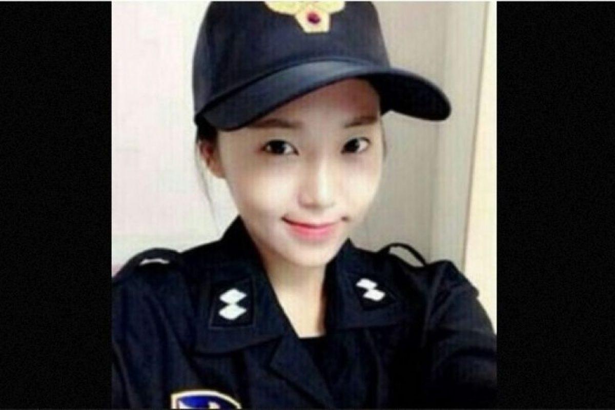 1. Ella podría ser la policía más guapa de Corea del Sur Foto:Twitter.com – Archivo. Imagen Por: