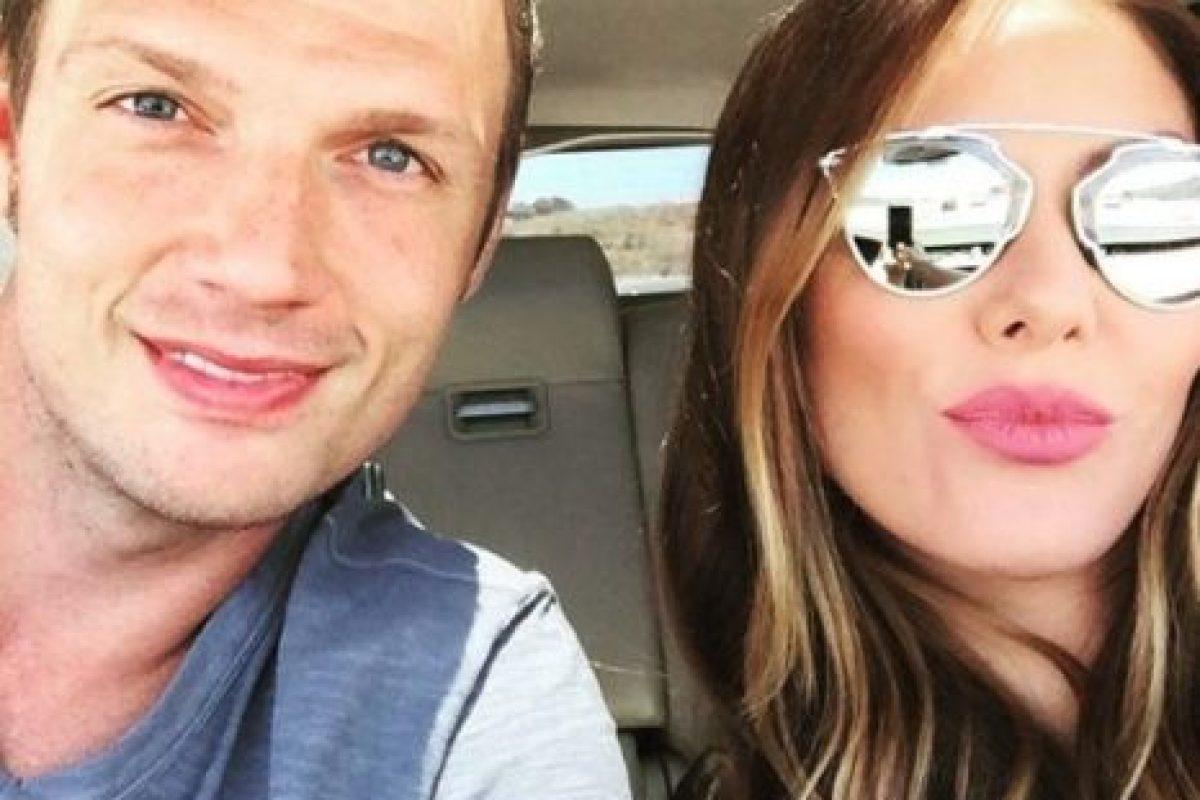 Su esposa Lauren Kitt confirmó su embarazo. Foto:vía instagram.com/nickcarter. Imagen Por: