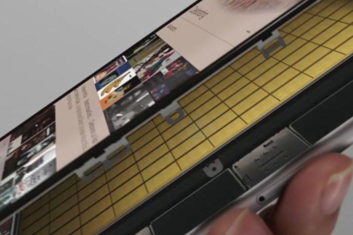 Los sensores capacitivos. Foto:Apple. Imagen Por: