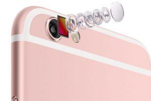 Los lentes de la cámara posterior de 12 megapíxeles. Foto:Apple. Imagen Por: