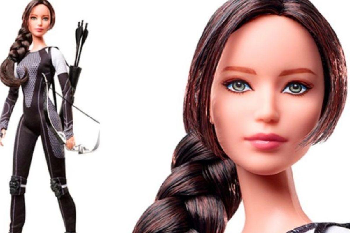 """Así, en """"Los Juegos del Hambre"""". Foto:vía Mattel. Imagen Por:"""