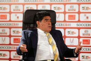 Como jugador se coronó en el Mundial de México 1986. Foto:Getty Images. Imagen Por: