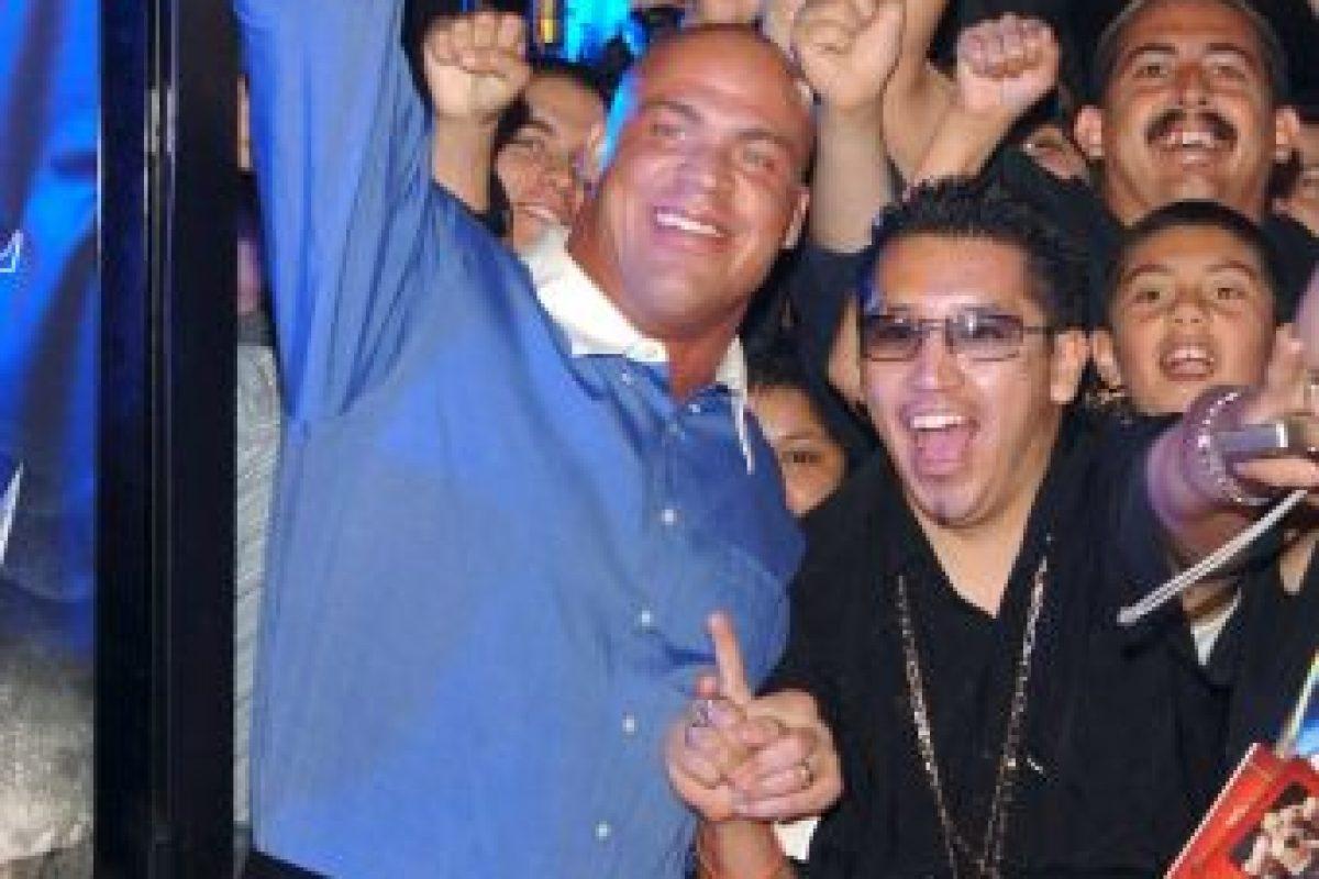 Aunque trabaja para TNA y no para WWE, el luchador de 46 años ganará 20 millones de dólares Foto:WWE. Imagen Por: