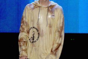 """7. A principios de 2015, Justin Bieber utilizó el escenario de su """"Roast"""" en """"Comedy Central"""" para disculparse por su mal comportamiento. Foto:Getty Images. Imagen Por:"""