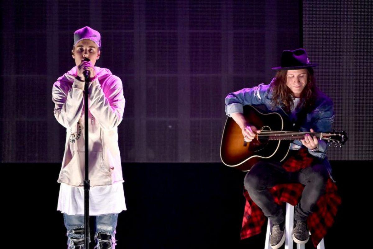 """1. En 2014, """"TMZ"""" difundió un video del pasado de Justin Bieber en el que decía chistes racistas. Foto:Getty Images. Imagen Por:"""