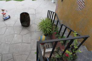 """El patio desde la casa de """"Jaimito"""". Foto:Nicolás Corte. Imagen Por:"""
