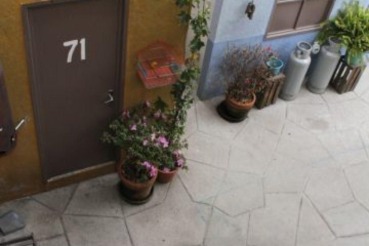 """La casa de la """"Bruja del 71"""" Foto:Nicolás Corte. Imagen Por:"""