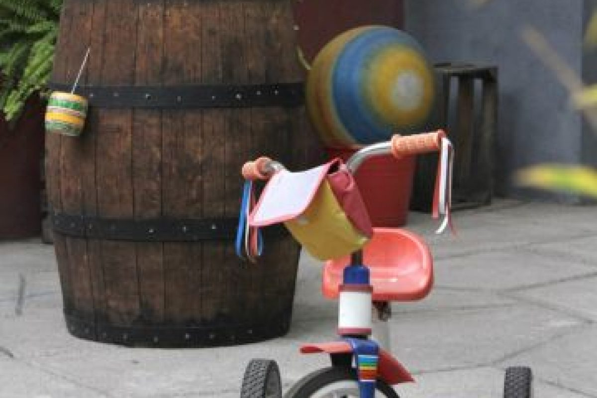 """El triciclo de """"Kiko"""". Foto:Nicolás Corte. Imagen Por:"""