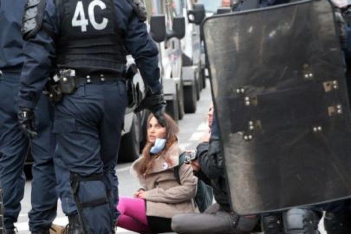 París se encuentra en Estado de Emergencia desde el 13 de noviembre Foto:AFP. Imagen Por: