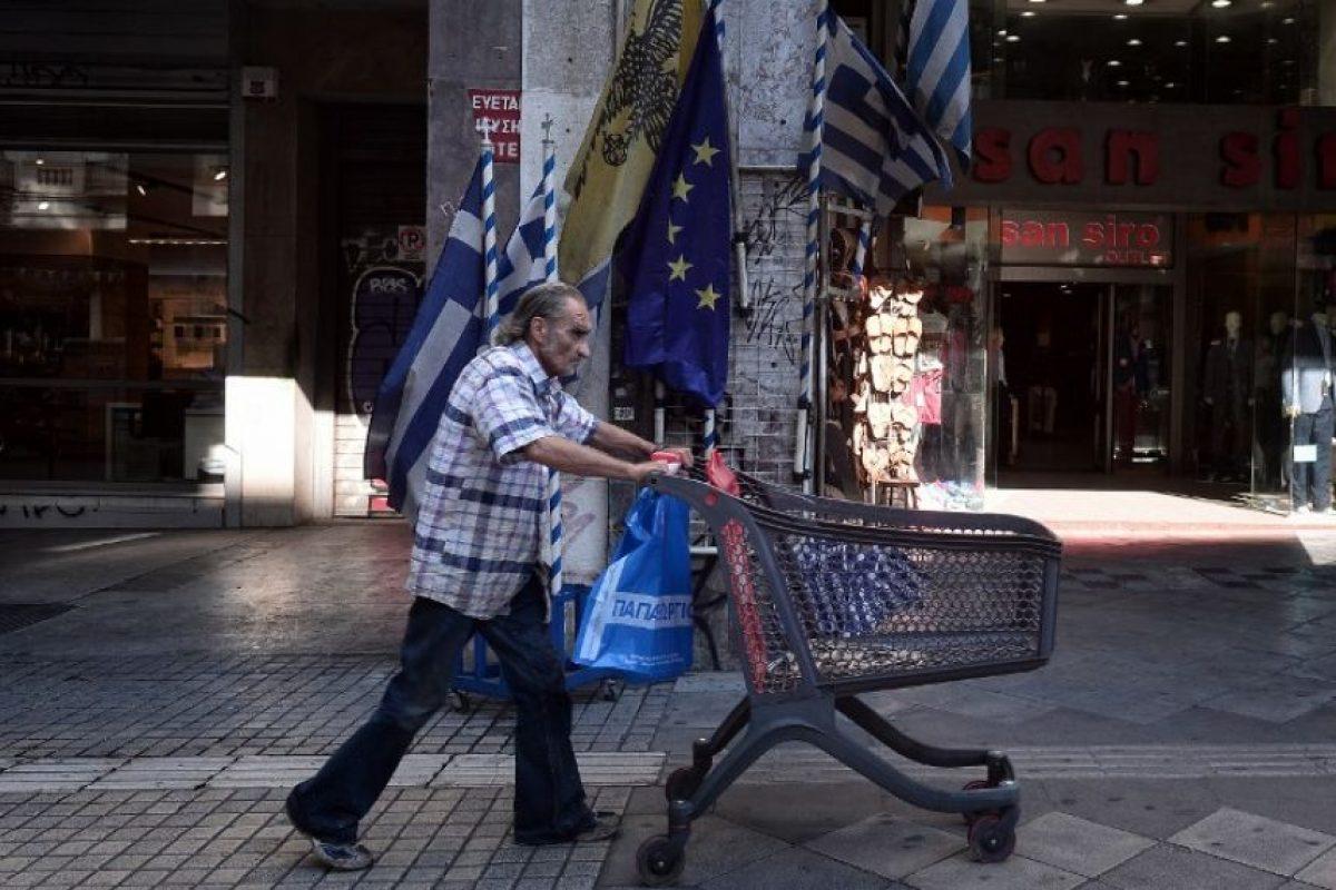 """¿Un bono especial por ir bien vestido a trabajar? En Grecia existía. Los """"gastos innecesarios"""" eran frecuentes Foto:AFP. Imagen Por:"""
