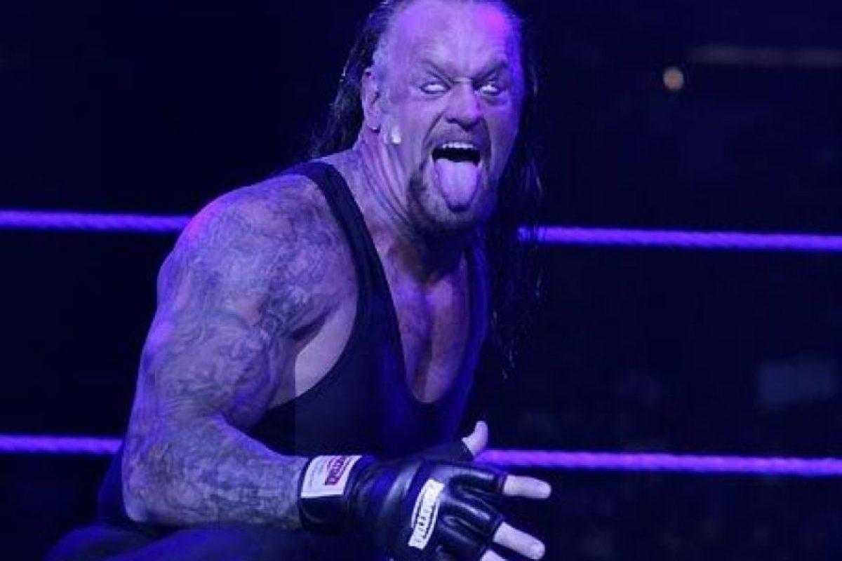 9. Undertaker Foto:WWE. Imagen Por: