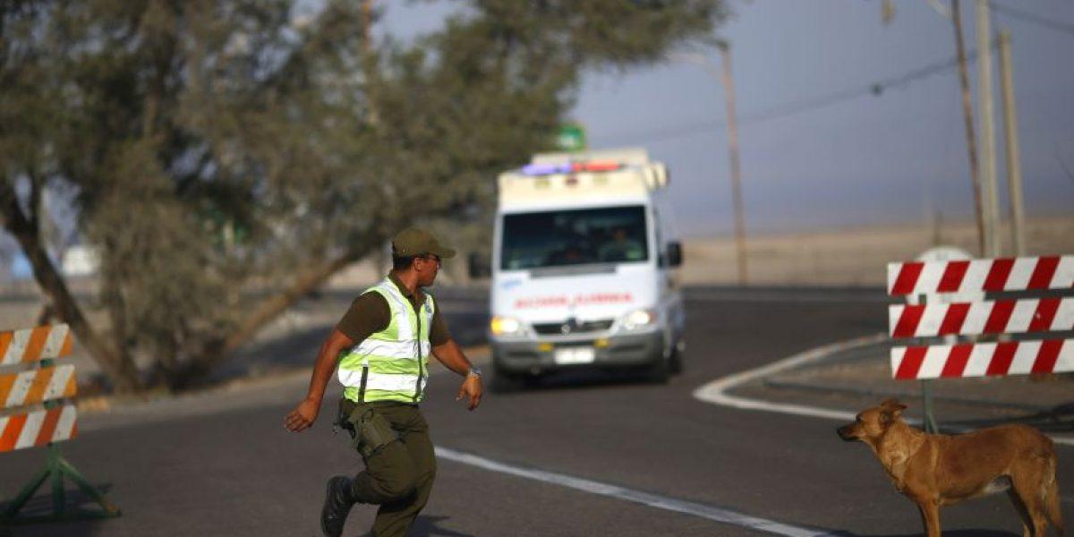 Batuco: accidente vehicular deja dos víctimas fatales y tres lesionados