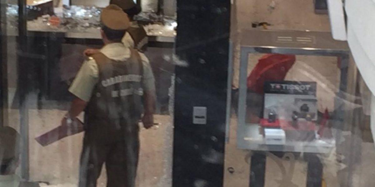 Alto Las Condes: violento asalto con tiroteos deja a un fallecido