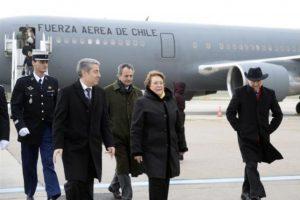 Llegada de la Presidenta a París, Francia Foto:Prensa Presidencia. Imagen Por: