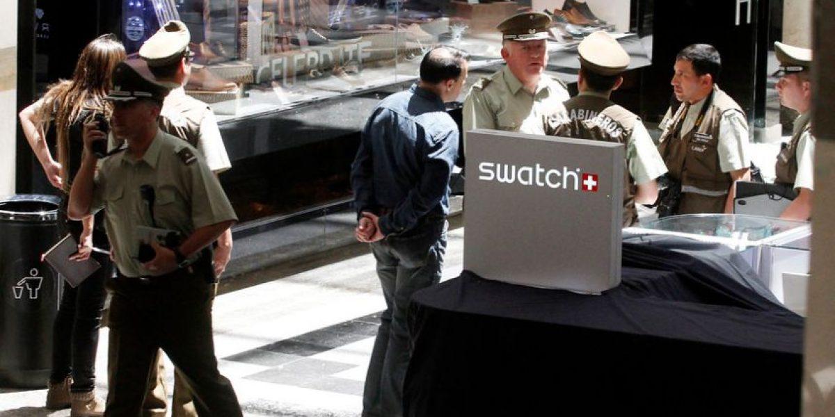 Estas son las impactantes fotos que dejó el asalto al mall Alto Las Condes