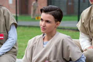"Ruby Rose interpreta a ""Stella Carlin"" en la serie ""Orange is the New Black"" Foto: Netflix. Imagen Por:"