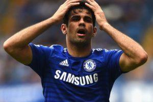 Costa se quedó en la banca durante el encuentro de este domingo. Foto:Getty Images. Imagen Por: