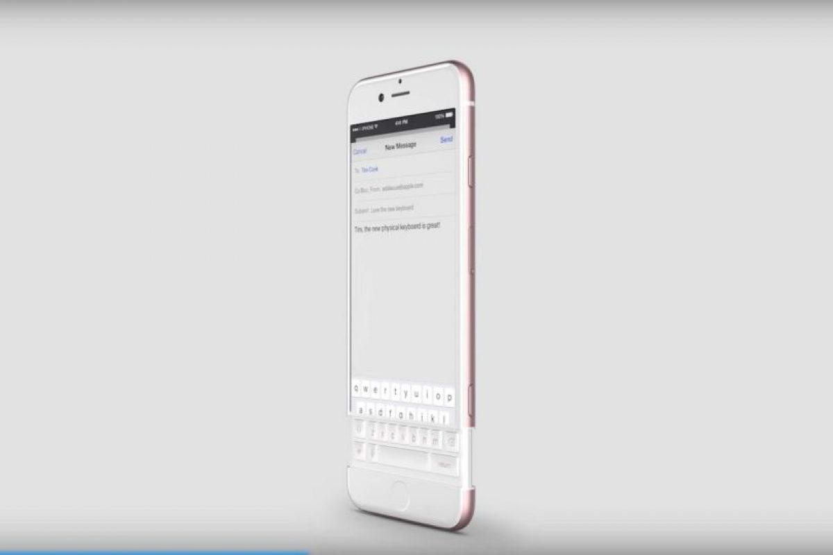 Incrementaría la altura del dispositivo. Foto:vía Curved / YouTube. Imagen Por: