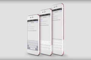 iPhone con un teclado físico. Foto:vía Curved / YouTube. Imagen Por: