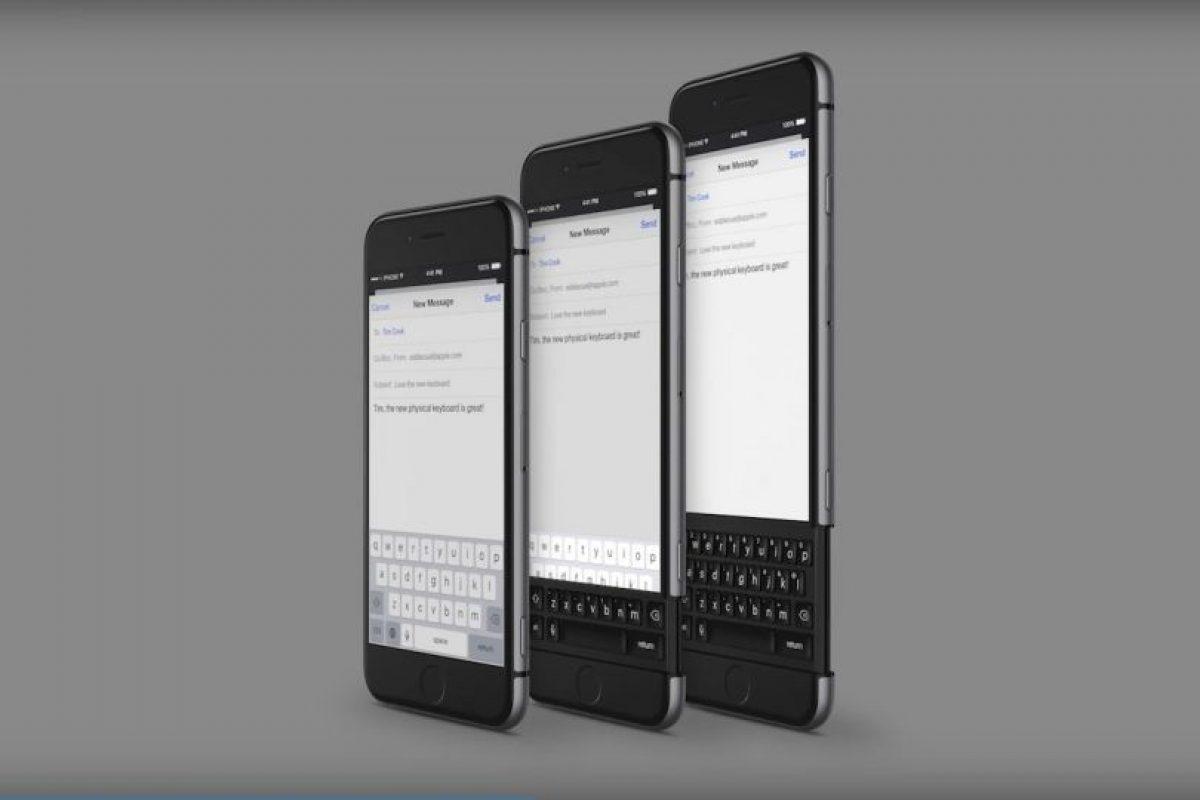 Estaría integrado en el smartphone. Foto:vía Curved / YouTube. Imagen Por: