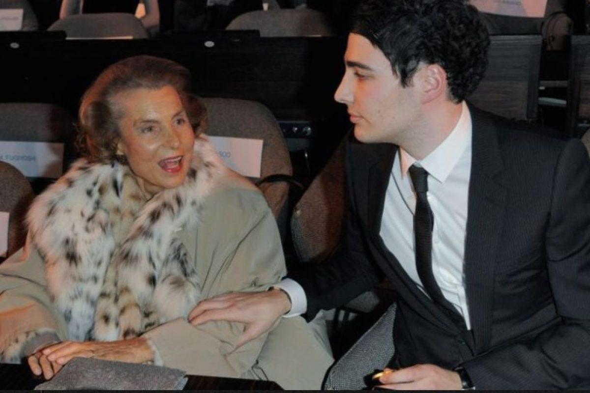 2. Liliane Bettencourt, de origen francés, es la heredera principal de la compañía L'Oreal. Foto:Getty Images. Imagen Por: