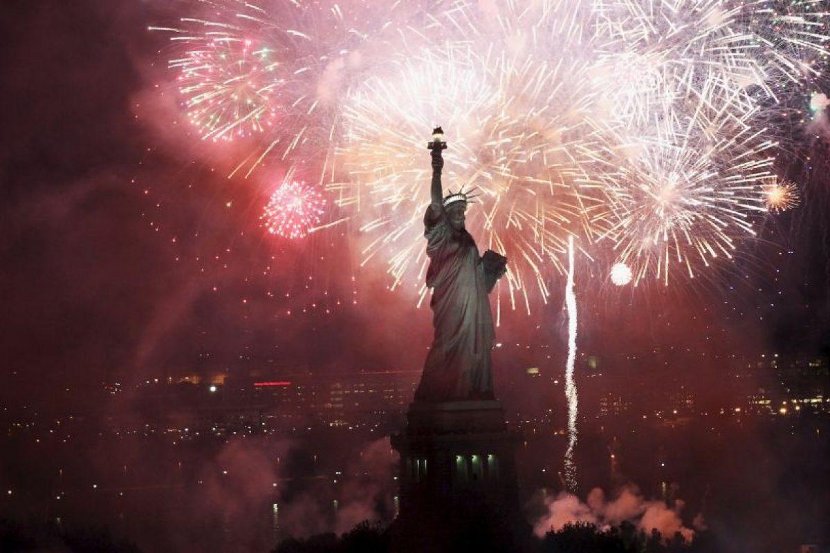 """Su nombre real es """"La libertad iluminando al mundo"""" Foto:Getty Images. Imagen Por:"""