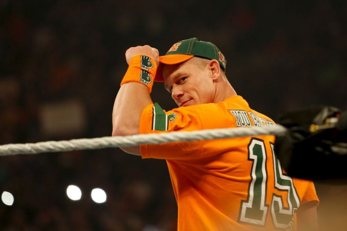 3. John Cena Foto:WWE. Imagen Por: