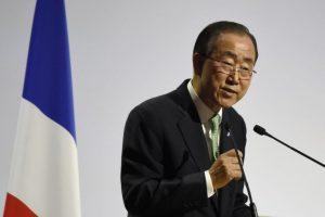 Ban ki-Moon, Secretario General de las Naciones Unidas Foto:AFP. Imagen Por: