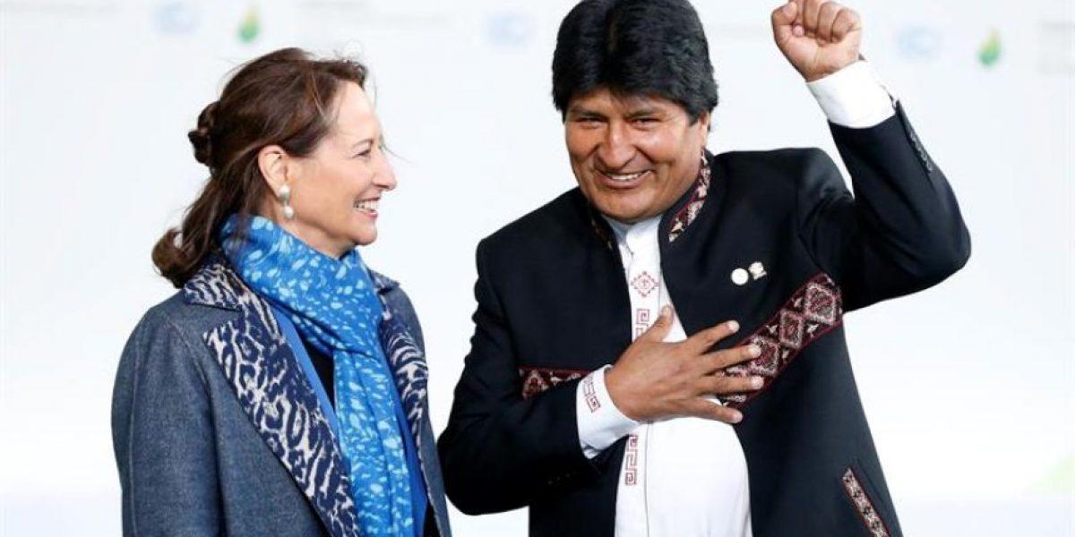 Evo Morales, en la COP21: