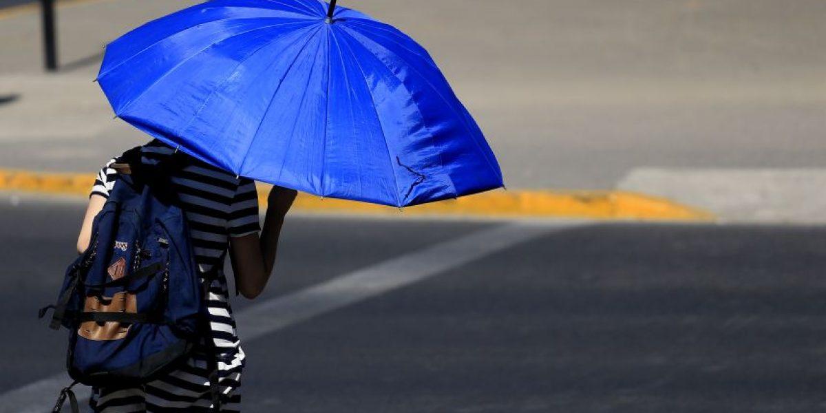 Temperaturas sobre 30° se registrarán esta semana en Santiago
