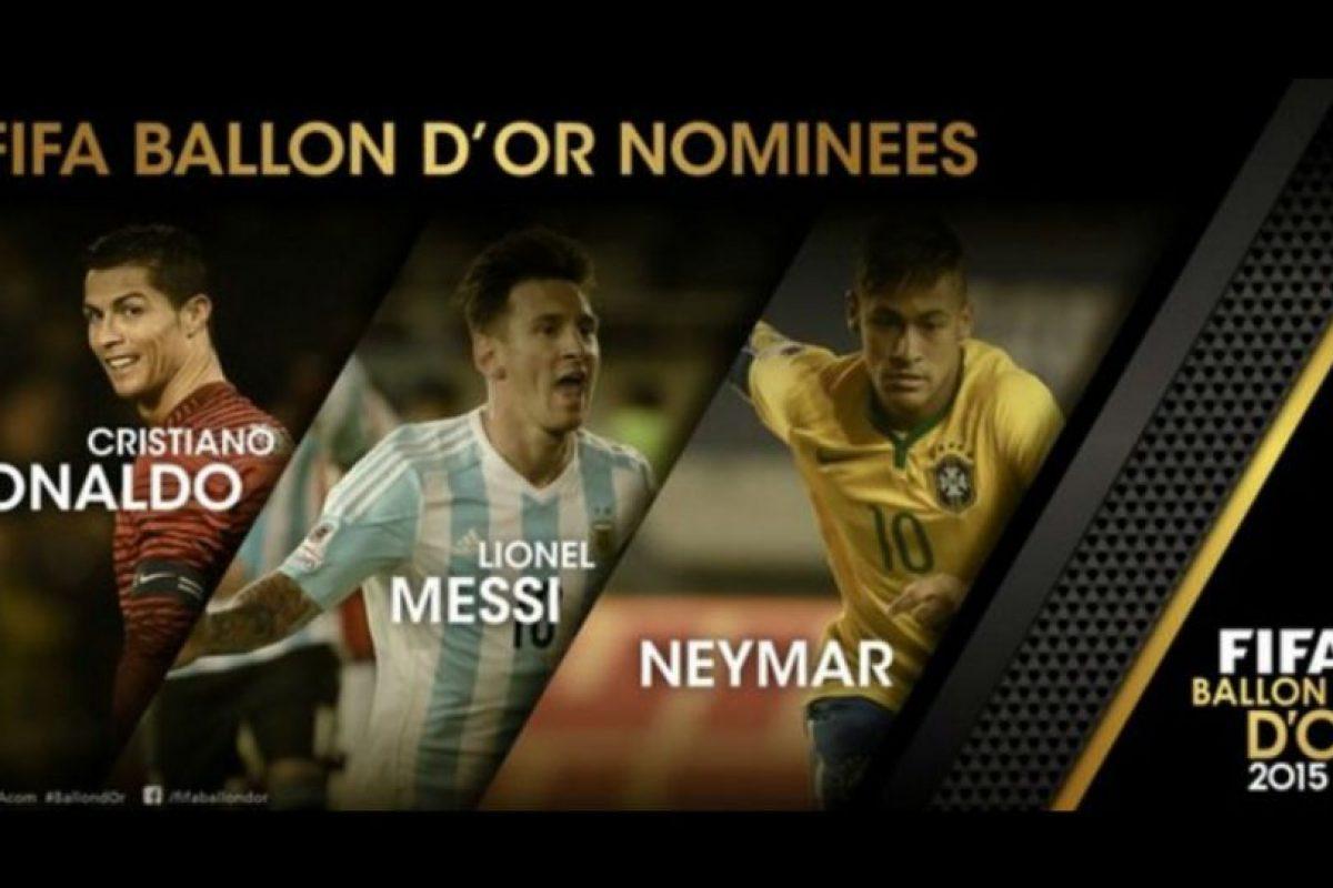 Ellos son los finalistas del Balón de Oro. Foto:twitter.com/FIFAcom. Imagen Por: