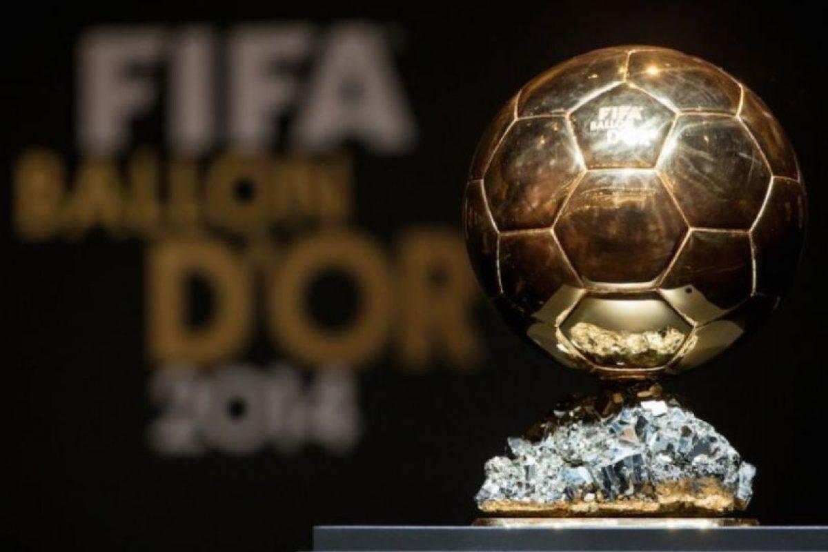 El Balón de Oro se entregará el 11 de enero. Foto:Getty Images. Imagen Por: