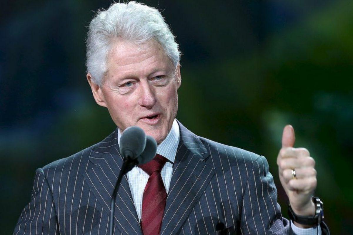 1. Fue el presidente número 42 de Estados Unidos. Foto:Getty Images. Imagen Por: