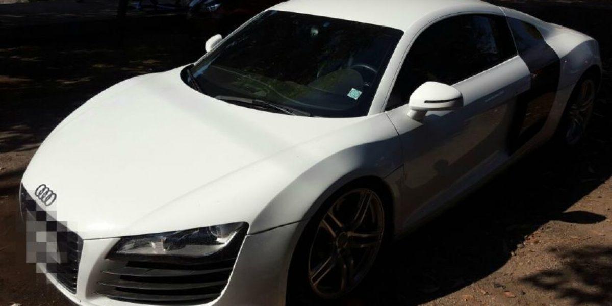 Carabineros recupera lujoso vehículo robado a hermano de Jorge Valdivia