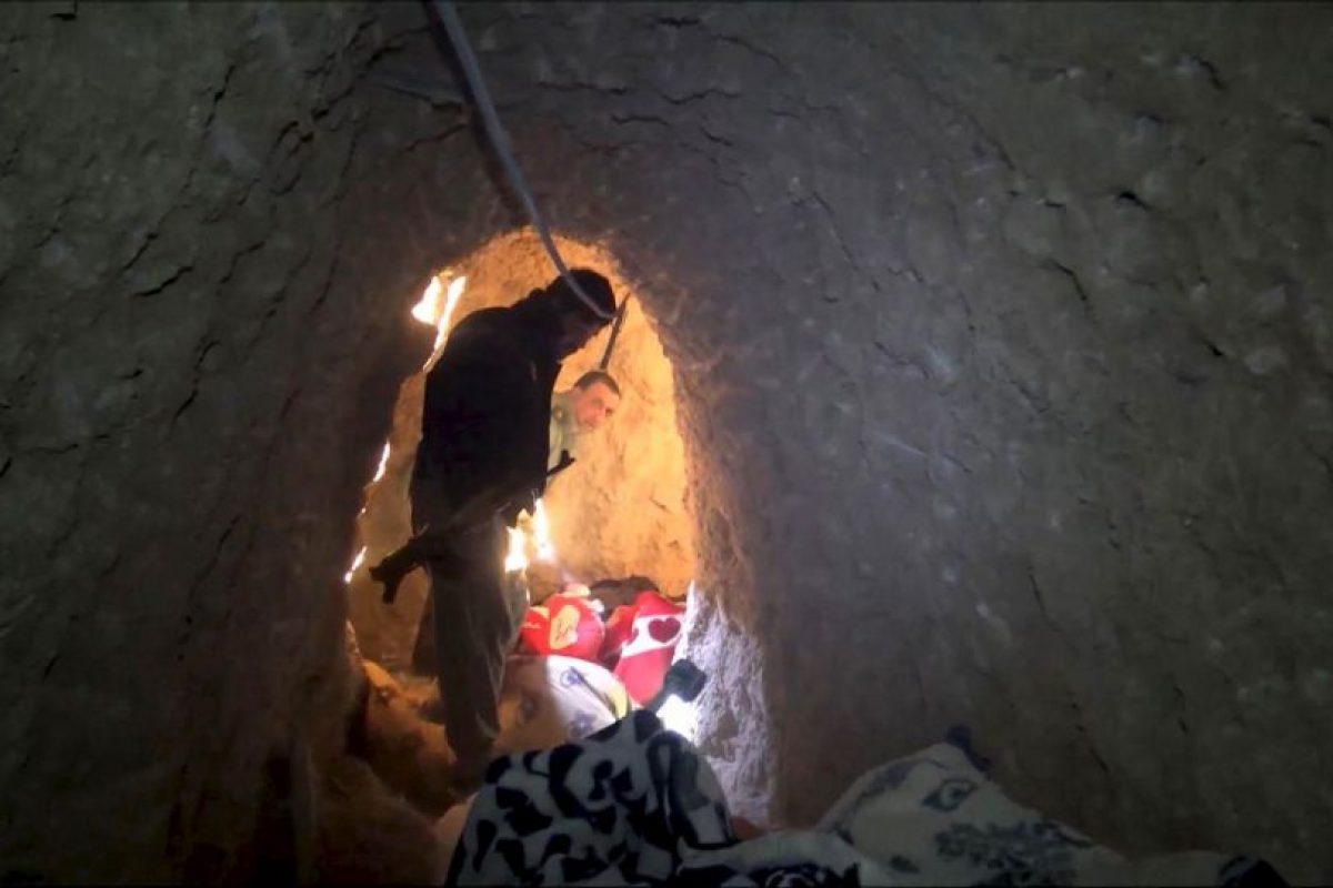 La conexión de los túneles les permitía moverse de un edificio a otro. Foto:AP. Imagen Por: