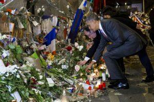 Estuvo acompañado del presidente Francois Hollande Foto:AP. Imagen Por: