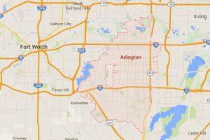 Todo ocurrió Arlington, Texas. Foto:Google Maps. Imagen Por: