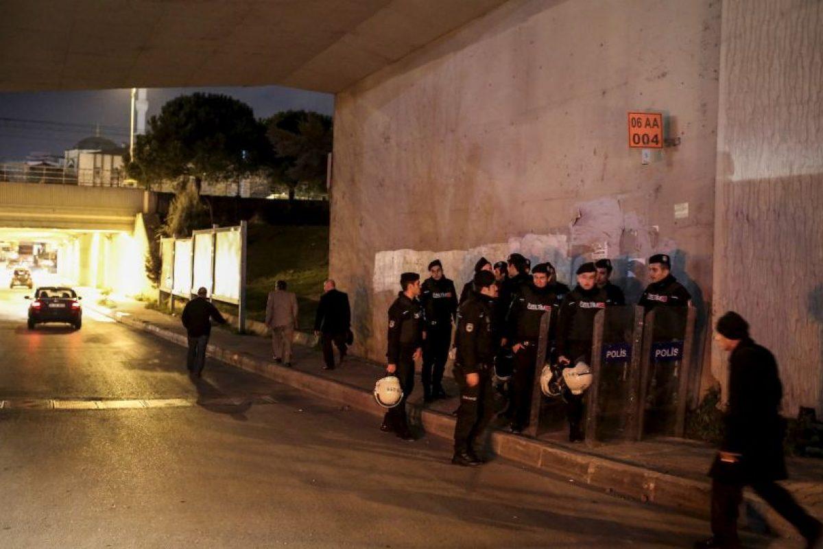 La explosión ocurrió alrededor de las 17:15 hora local Foto:AFP. Imagen Por: