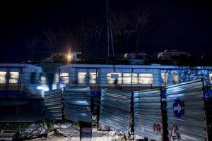 La gente fue desalojada de la zona Foto:AFP. Imagen Por: